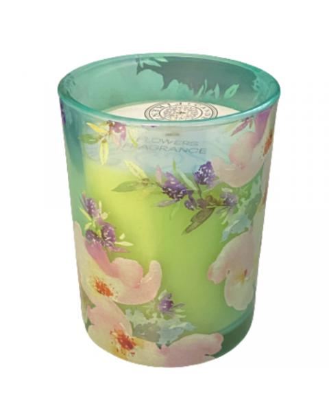 CANDELE FIRENZE stiklinė žvakė, gėlių kvapo, 60h, 1 vnt 3