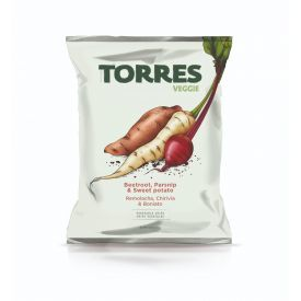 Daržovių traškučiai TORRES, 90g