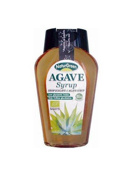 NATURGREEN agavų sirupas, ekologiškas 360ml