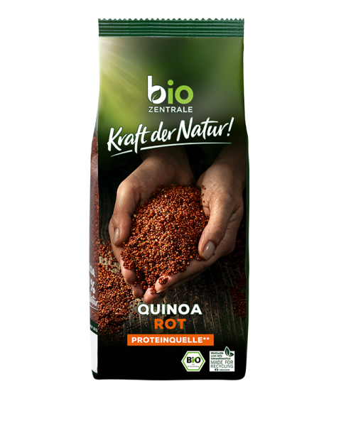 Ekologiška raudona bolivinė balanda BIOZENTRALE, 400 g