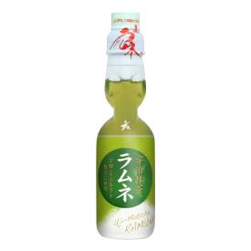 Gazuotas gėrimas RAMUNE Matcha, 200 ml