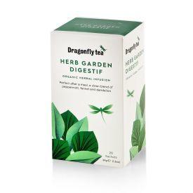 Ekologiška arbata DRAGONFLY TEAS HERB GARDEN DIGESTIF  34g