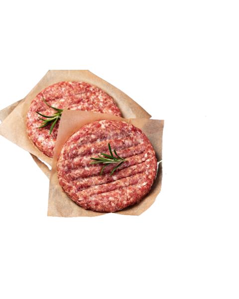 Iberico kiaulienos mėsainių paplotėliai DERAZA IBERICO, 4 vnt, šaldyti