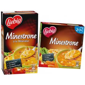 Daržovių sriuba Minestrone LIEBIG, 600 ml