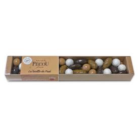 "Mini saldainių rinkinys PECOU ""La Recette de Paul"" dėžutėje, 110 g"