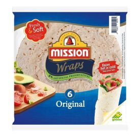 Tortilija Original MISSION FOOD (6 vnt), 24cm, 370g