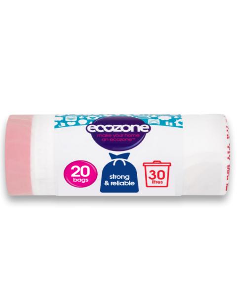 Suyrantys šiukšlių maišai ECOZONE, 30 L, 20 vnt