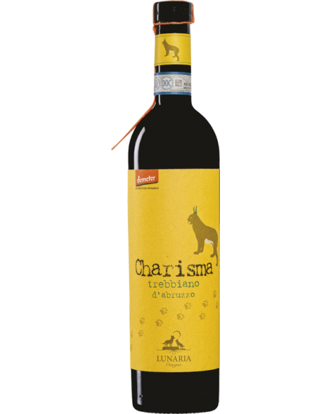 Biodinaminis baltas sausas vynas Lunaria Charisma Trebbiano d'Abruzzo 12,5%, 750ml