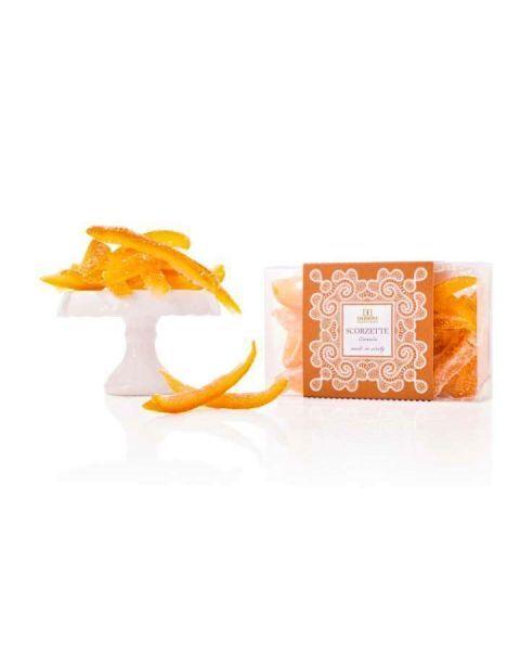 Cukruotos apelsinų žievelės DAIDONE rankų darbo, 200 g 2