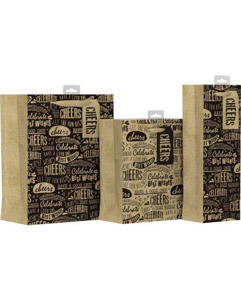 Pailgas maišelis dovanoms GIFTMAKER, 12,5 x 35 cm, 1 vnt.