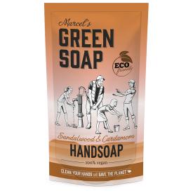 Rankų muilas MARCELS GREEN SOAP su santalu ir kardamonu, papildymas 500 ml