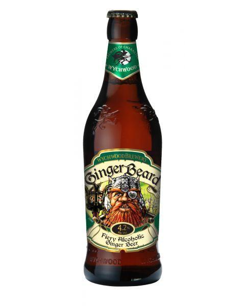 TRADITIONAL ALE stiliaus alus SU IMBIERU Wychwood Ginger Beard 4,2%, 500 ml