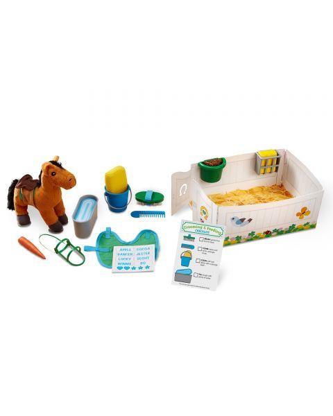 "Žaidimo rinkinys MELISSA & DOUG ""Horse Care"", 1 vnt. 3"