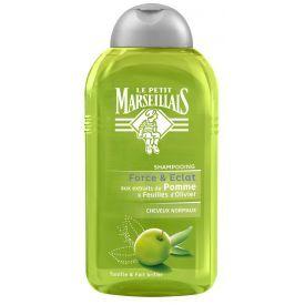 Šampūnas normaliems plaukams su obuolių ir alyvuogių esktraktais LE PETIT MARSEILLAIS, 250 ml