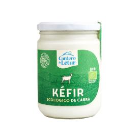 Ekologiškas ožkų pieno kefyras CANTERO DE LETUR, 4,4% rieb., 420g