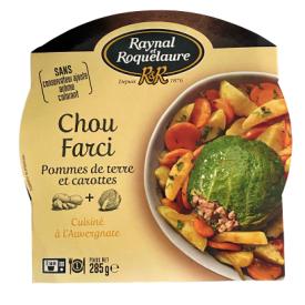 Įdaryti kopūstai RAYNAL et ROQUELAURE su mėsa ir daržovėmis, 285 g