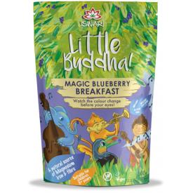Ekologiškas pusryčių mišinys vaikams Little Buddha su mėlynėmis Magic Blueberry, 300g