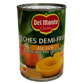 Konservuotos persikų skiltelės sultyse DEL MONTE, 415 g