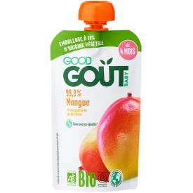 Ekologiška tyrelė GOOD GOUT mangų skonio, 120g., nuo 4 mėnesių