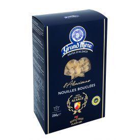 Makaronai su kiaušiniais GRAND'MERE L'ALSACIENNE sraigteliai, 250 g.