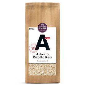 """Ekologiški """"Arborio"""" rizoto, baltieji ryžiai ANTERSDORFER, 500 g"""