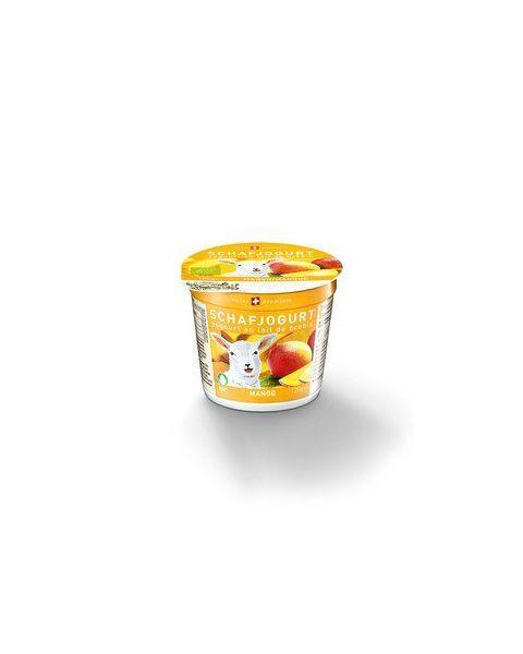 Ekologiškas avių pieno jogurtas su mangais MOLKEREI, 120g
