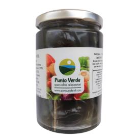 Didžiosios juodosios alyvuogės PUNTO VERDE su žolelėmis, 350 g