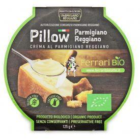 """Ekologiškas tepamas sūris """"Parmigiano Reggiano"""" FERRARI BIO, 125g"""