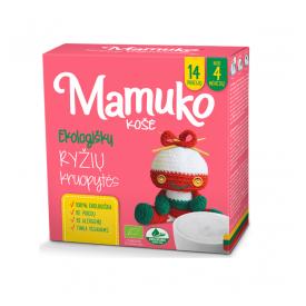 Ekologiškų ryžių kruopytės košei MAMUKO vaikams nuo 4 mėn., 240 g