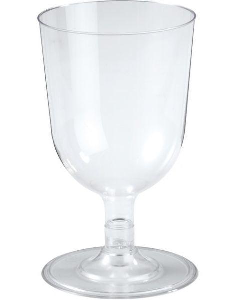 Vienkartinės vyno taurės DUNI, 150 ml, 12 vnt.