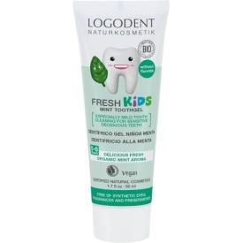 Vaikiškas dantųgelis LOGODENT Fresh Kids su mėtomis, 50 ml