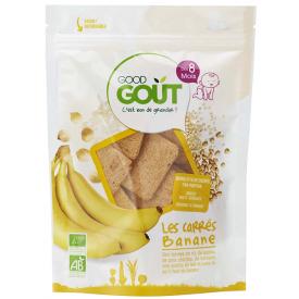 Ekologiški duoniukai GOOD GOUT bananų skonio, 50g., nuo 8 mėnesių