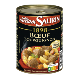 Jautienos troškinys Bourguignon WILLIAM SAURIN, 400 g