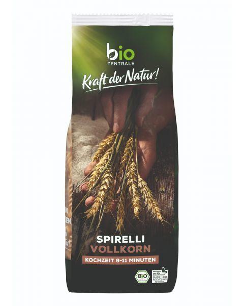 Ekologiški pilno grūdo makaronai BIOZENTRALE spiralės, 500 g