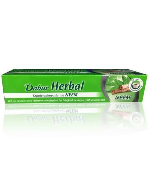 Ajurvedinė dantų pasta DABUR su indiniu nimbamedžiu, 100 ml