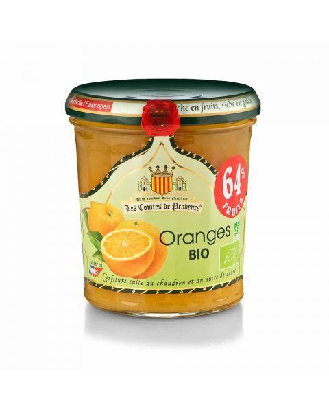 Ekologiškas apelsinų džemas LES COMTES DE PROVENCE, 350 g