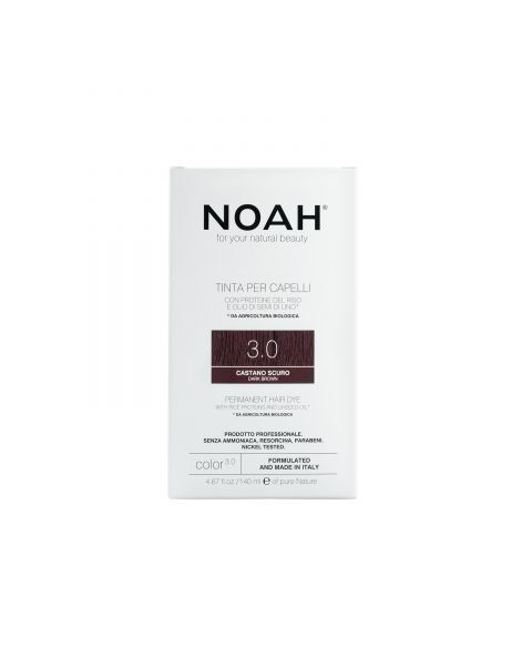 Plaukų dažai NOAH 3.0 tamsiai ruda, 140 ml