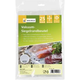 Vakuuminio sandarinimo maišeliai HEKU, 30 x 20 cm, 25 vnt