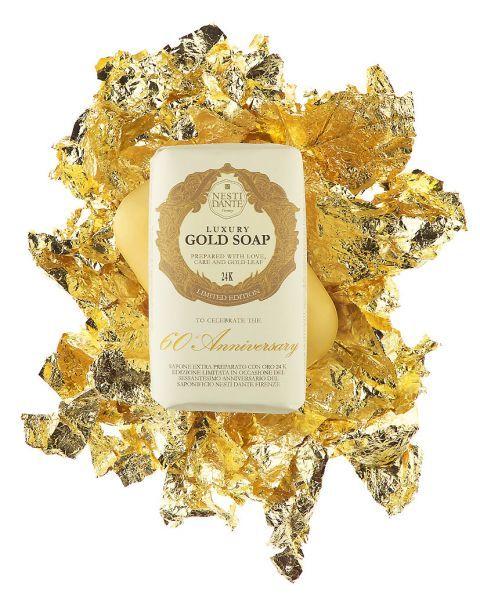 Itališkas muilas NESTI DANTE Luxury Gold, 250 g