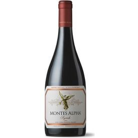 Raudonas sausas vynas MONTES Alpha Syrah 14,5%, 750ml