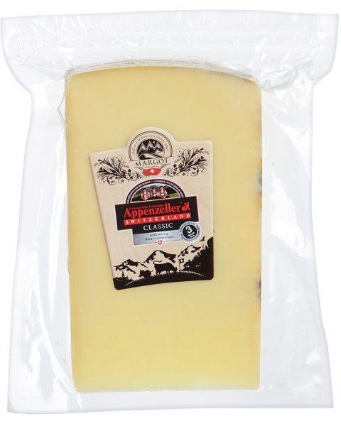 "Puskietis sūris ""APPENZELLER Classic"", brand. 4 mėn, 200g"