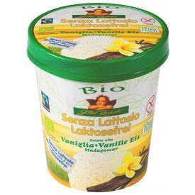 Ekologiški vaniliniai GILDO RACHELLI valgomieji ledai,be laktozės, 500ml