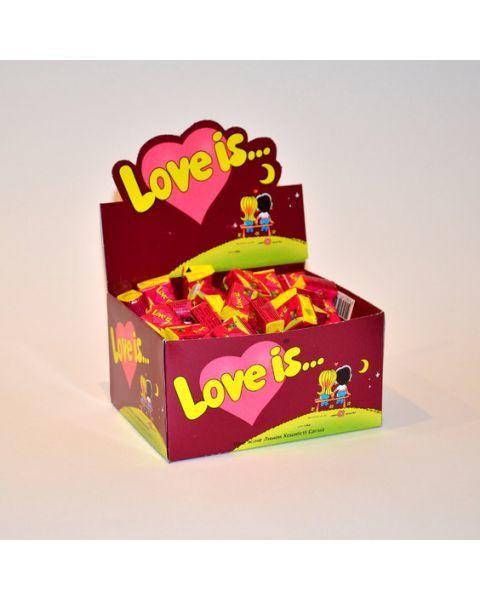 Kramtoma guma, Love Is, 4,5g (rožinė) 3