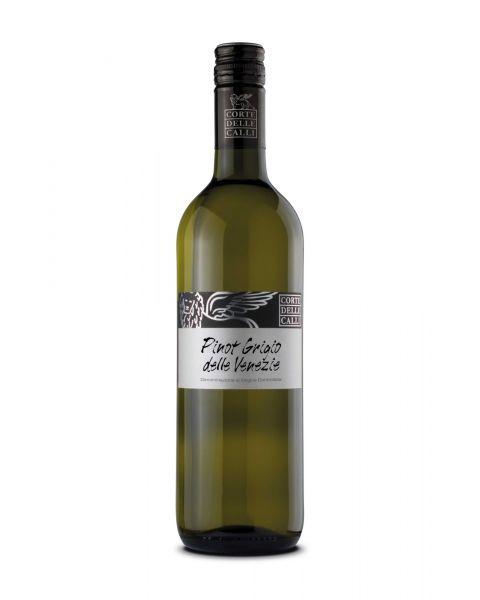 Baltasis sausas rūšinis vynas CORTE DELLE CALLI PINOT GRIGIO pagamintas Veneto regione, Italijoje