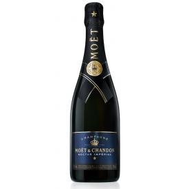 Šampanas MOET IMPERIAL NECTAR 12% 750ml, p.saldus
