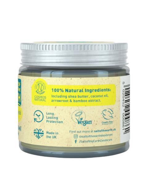 Bekvapis tepamas dezodorantas SALT OF THE EARTH, 60g 3