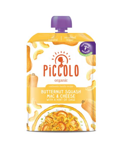 Makaronai su sūriu ir moliūgu PICCOLO, 130 g