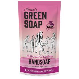 Rankų muilas MARCELS GREEN SOAP su pačiuliais ir spanguolėmis, papildymas 500 ml