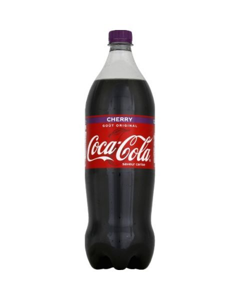 Gazuotas gėrimas COCA COLA CHERRY, vyšnių skonis 1,25L