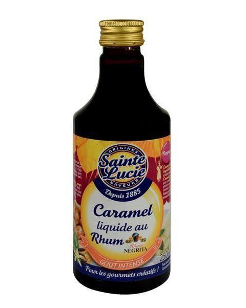 Karamelės ir romo sirupas SAINTE LUCIE, 250 ml